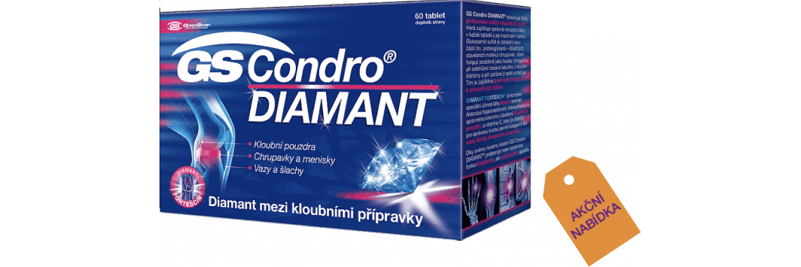 GS Condro DIAMANT 2 x 60 tablet