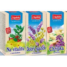 Sada bylinných čajů Apotheke